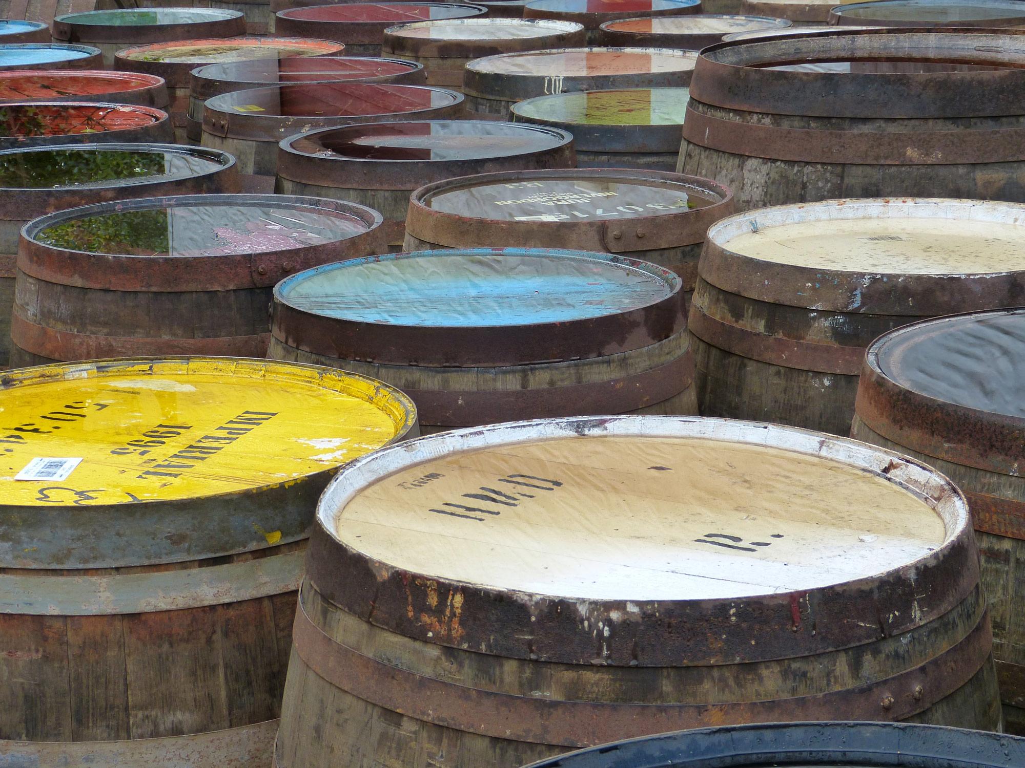 Fond de whisky et routes de tous les saints