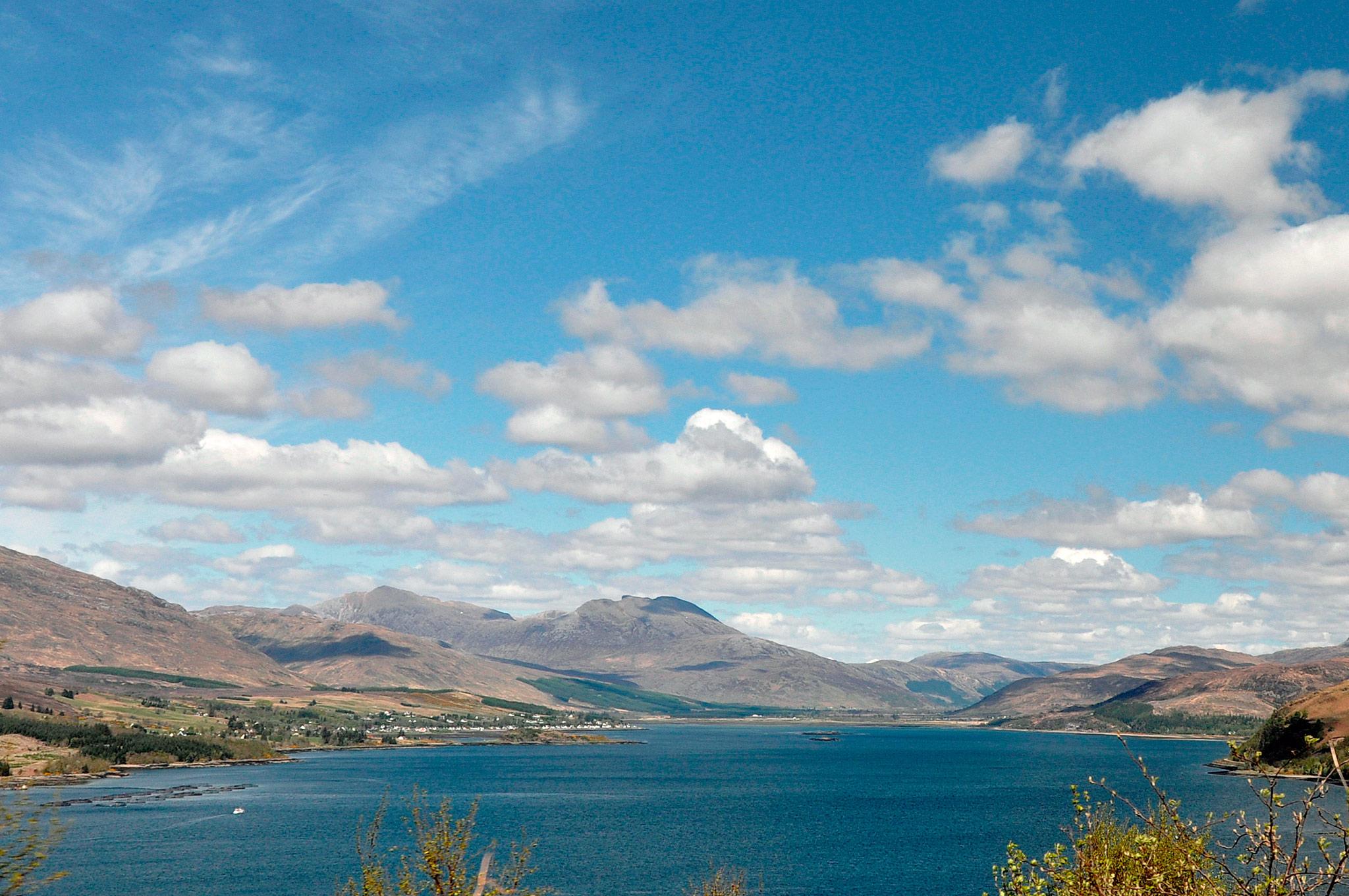 Écosse - les Highlands  Ecosse-loch-carrons-lo-loch-carron