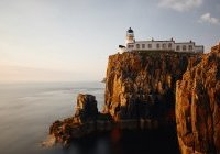 Neist Point Lighthouse, Irlande, Ile de Skye