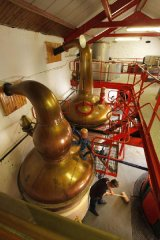 Edradour Distillery, Pitlochry, Perthshire, Ecosse