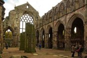 Abbaye Holyrood Ecosse Victorienne