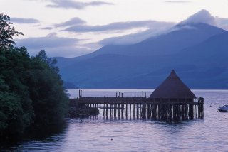 Scottish Crannog Center - Loch Tay, Perthshire, Ecosse