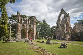 Abbaye de Dryburgh, Scottish Borders, Ecosse